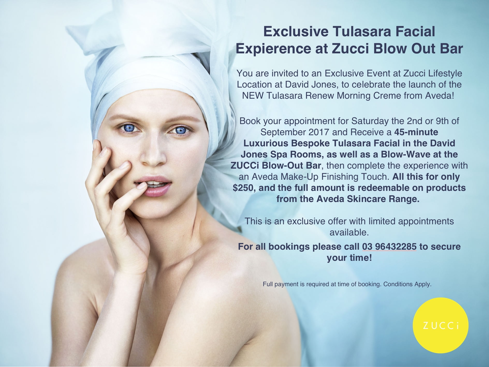tulasara-facial-flyer-website