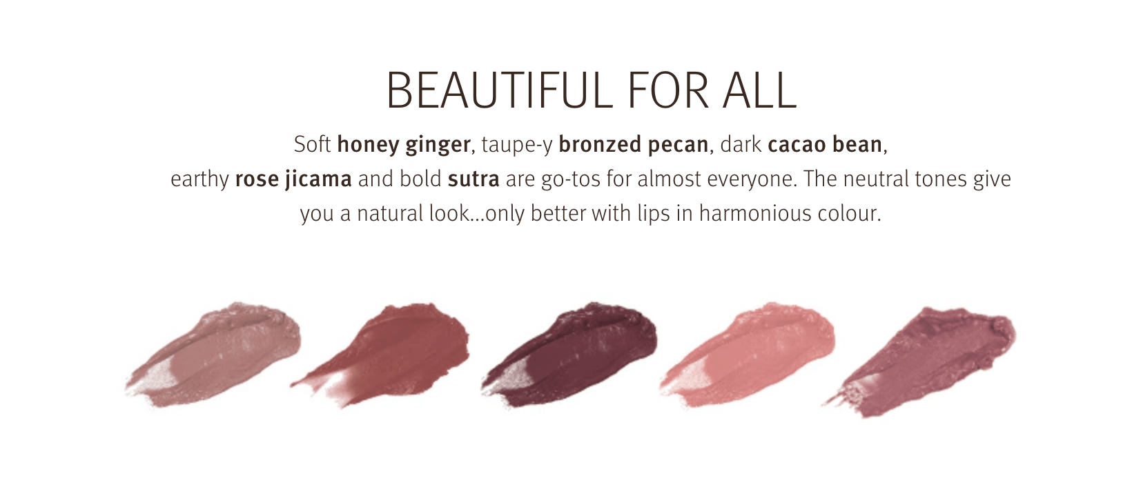 Love your lips at Zucci. We can match the perfect shade to your hair colour and skin colour.