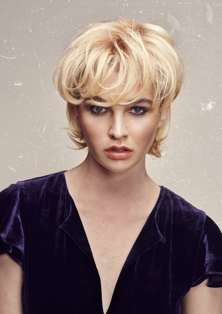 New photographic work by Zucci Hairdressing using Aveda Colour