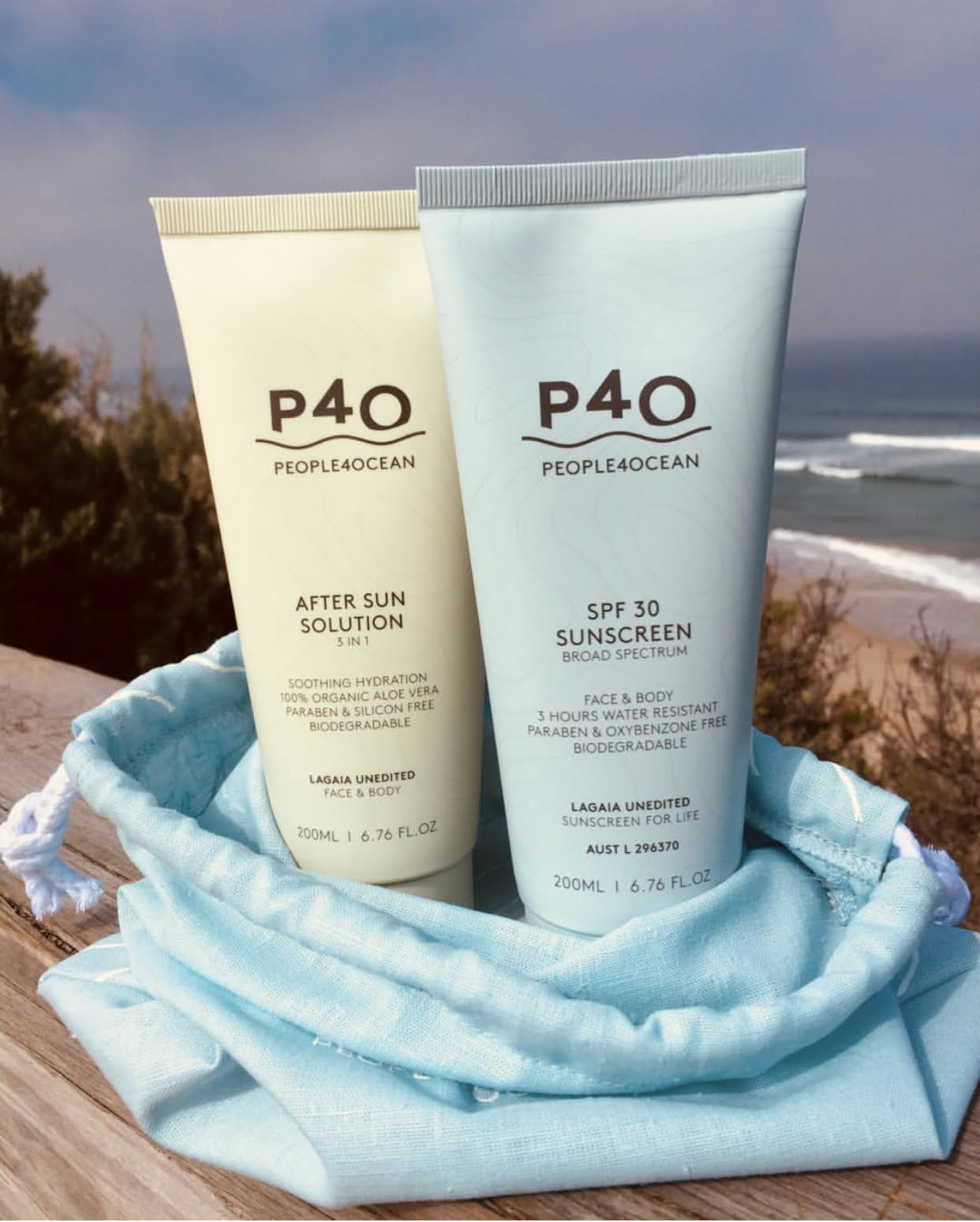 New to Zucci Hairdressing, People for Ocean - 100% Natural Sunscreen.