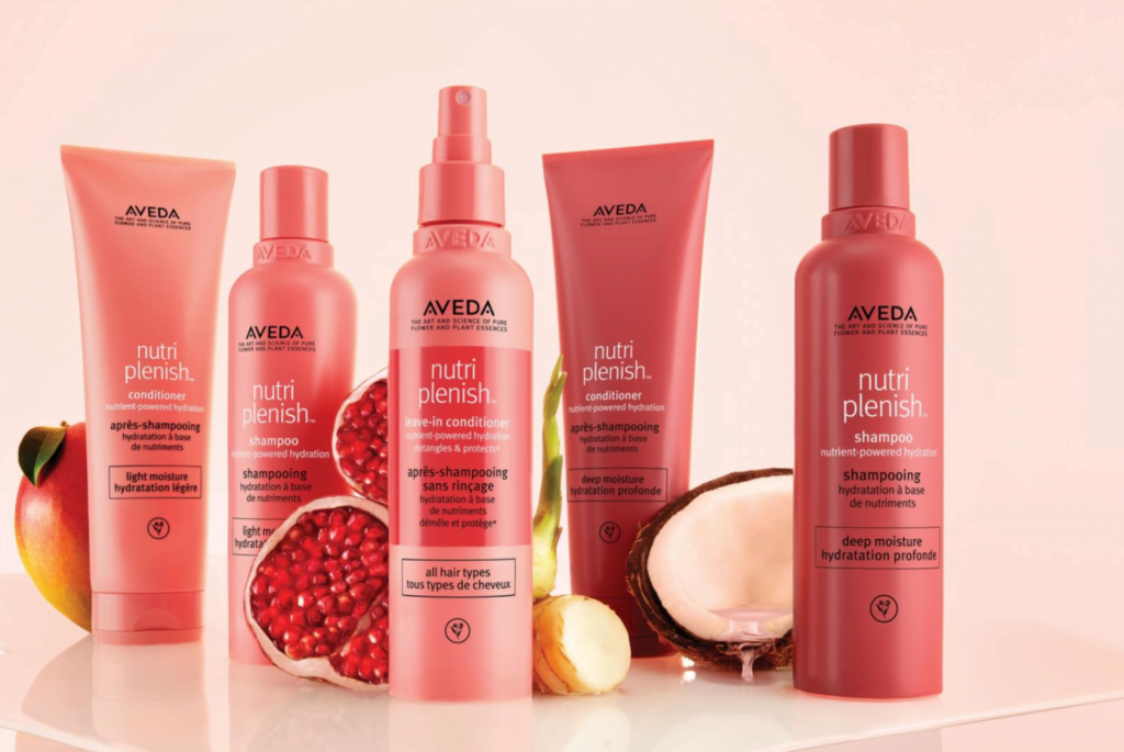 New Nutripleish range from Aveda coming soon to Zucci.