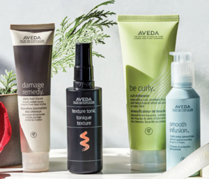 system of aveda styling products from zucci hairdressing
