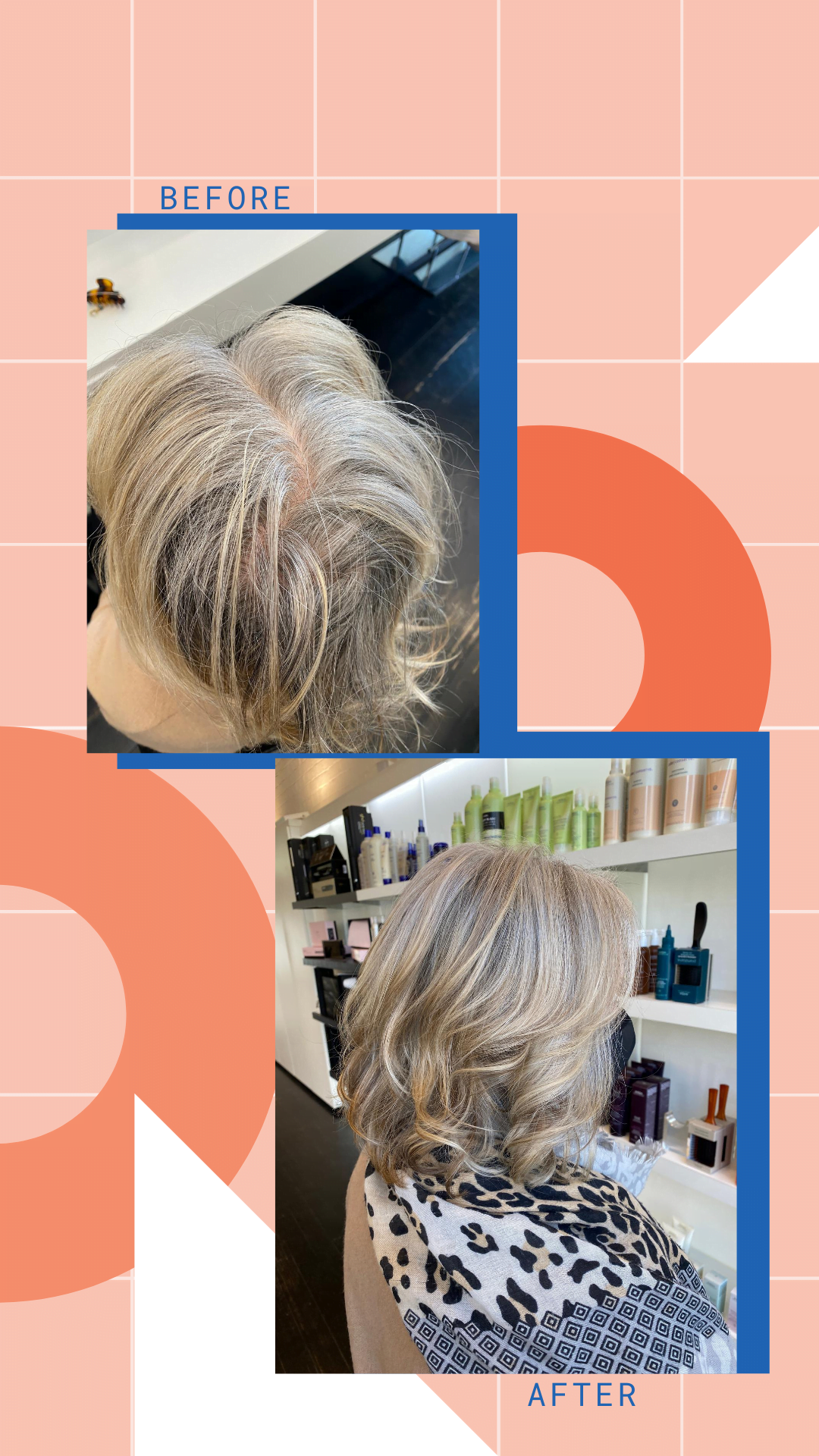 embrace your natural grey hair and enhance it with highlights and lowlights for texture and dimension