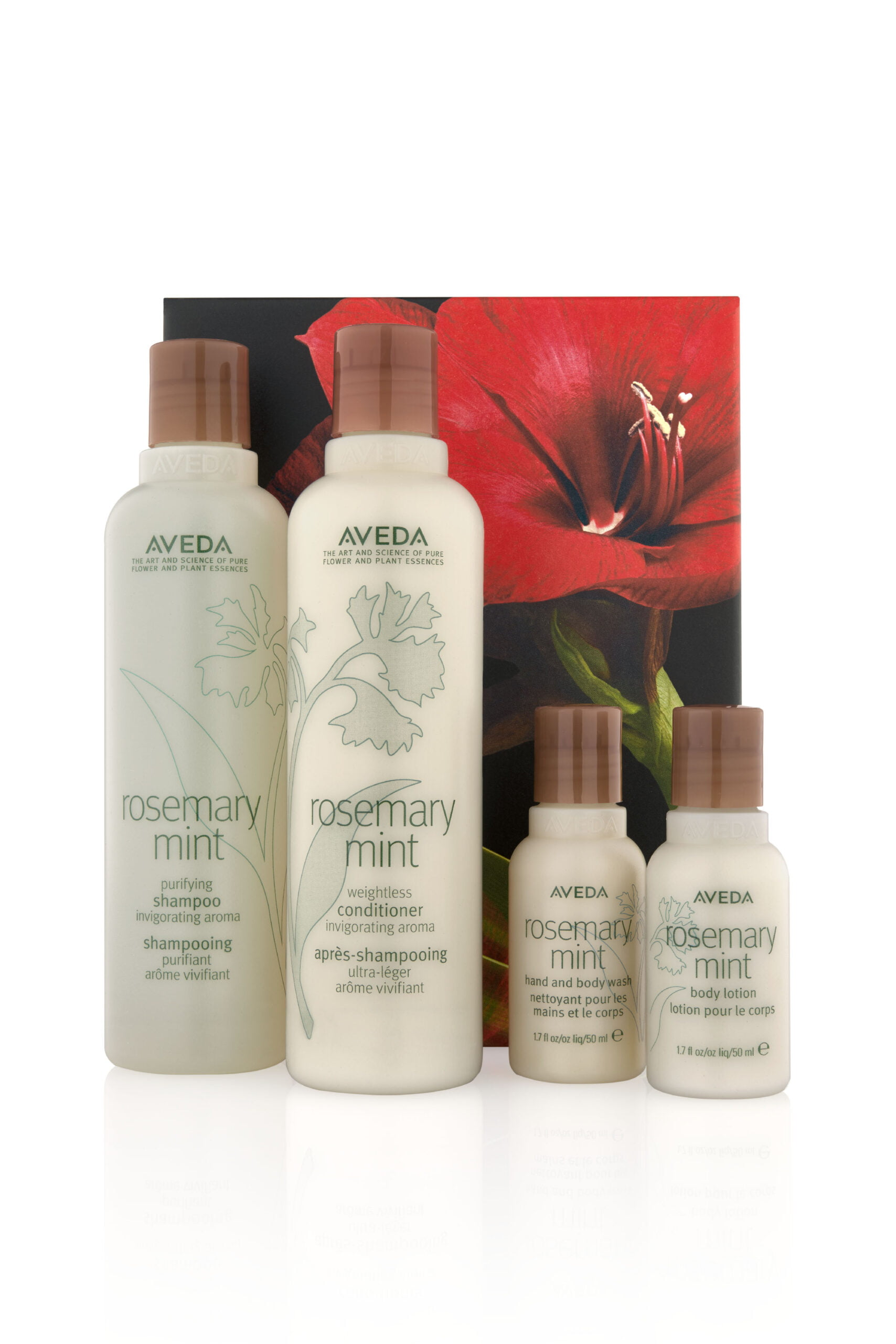 Rosemary Mint Holiday gift set now at Zucci